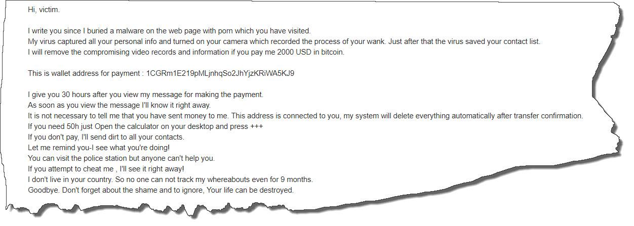 hi victim email